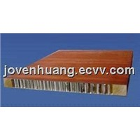 Aluminum honeycomb panel for furniture use