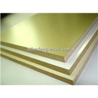 BV Aluminum Foil Faced MDF for kitchen furniture /cabinet door