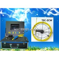 CCTV  Pipe and Wall Inspection Camera TEC-Z710DK with DVR&Keyboard