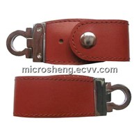High Quality 4GB Leather USB Flash Disk