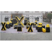 Inflatable Paintball Bunker Set for the Paintball Game