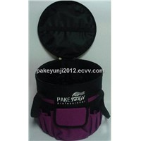Multifunctional Round Black&Purple Tool Pouch