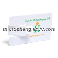 Over Turn Credit Card USB Flash Drive