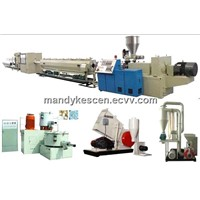 PVC plastic pipe making machinery