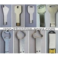 Promotional Gifts Metal Key 4GB 8GB USB 2.0 Flash Disk