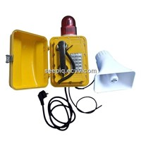 Weatherproof Expand Volume phone (warning light)