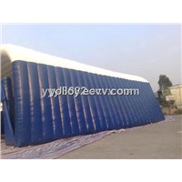 White and Blue Large Inflatable Tent for Party Rental Business