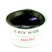 0.67X Wide Angle+Macro Lens for Iphone 4