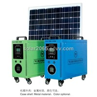 100W Home Solar Power System