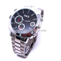 1080p HD Night Vision Motion Detector Men Spy Watch Camera DVR