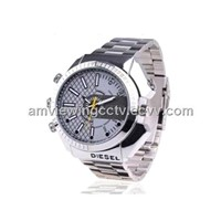 1080P Night Vision Waterproof Men Wrist Watch Camera - 4GB/8GB/16GB/32GB Available