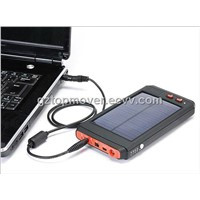12000mAh Solar Laptop Mobile Battery Charger