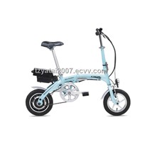 "12"" 180W Aluminium Mini Folding electric bike/TDU12Z001"