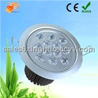 12x3w Round Recessed Indoor LED Downlight