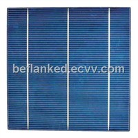 156mm polycrystalline silicon solar cell