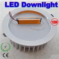 18W led Downlight Ceiling light with 18leds lights 85~265V