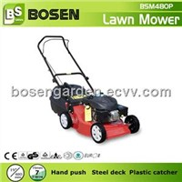 "19"" Lawn Mower with Plastic Grass Catcher"