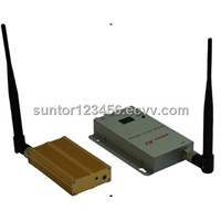 1.2G wireless video Transmitter and Receiver surveillance system  TY-1000mW