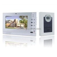 2012 New Recordable 7inch Video Door Camera