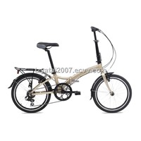 "20""7 speed aluminium folding bike with low step-through frame/RA072"