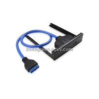 20 pinheader to USB 3.0 A Female 2 ports with Front Panel