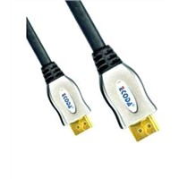 24k gold connector high speed 1080p 3D hdmi cable