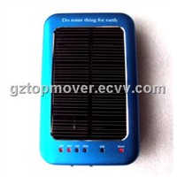 2600mAh Solar Mobile Charger with Flashlight