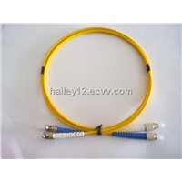 2.0mm ST/PC-FC/PC SM 9/125 DX Fiber Optic Jumper Cord 2M