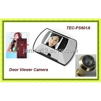 2.2 ''TFT LCD screen digital door peephole viewer ,Pinhole Camera TEC-PS601A