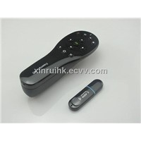 2.4G RF Sensor Remote 3D Fly Air Gyro Sensing Mouse with Wireless Receiver