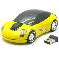 2.4G wireless Car Mouse for Laptop and PC