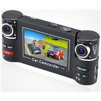 2.7 inch Dual lens IR Car Vehicle Dash Dashboard Camera DVR Night Vision Car DVR Driving Record
