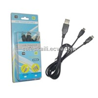 2 in 1 USB to mini 5 Pin for iPhone4s