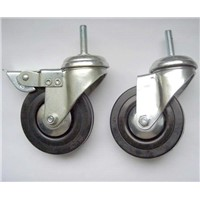 "3""/4""/5"" Rubber Screw Wheels"