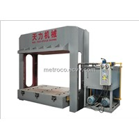 400ton plywood prepress machine