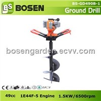 49cc Single Man Gasoline Ground Drill Earth Auger (GD490B)