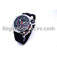 4GB/8gb Waterproof Watch Camera DVR 720p MiniCamcorder, Watch Camera DVR Watch