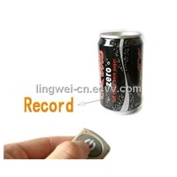 4GB Coca Cola Coke Can Video Recorder With Remote Control(LW-DV29)