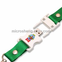 4GB Promotional Lanyard USB Flash Memory