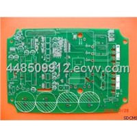 4 Layer 0.35mm Thickness Wire Printed Prototype PCB Board for Digital TV