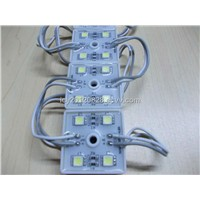 4-leds  waterproof   12v  outdoor  5050  mini  smd   led  module