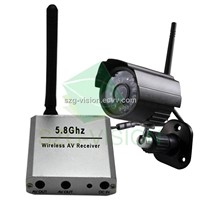 5.8G Wireless Night Vision IR Camera/CCTV Camera (GV2-WS304-5.8/RC305+CM505)
