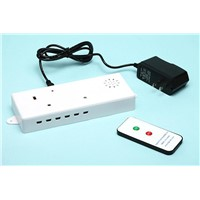 6 ports security alarm sensor host