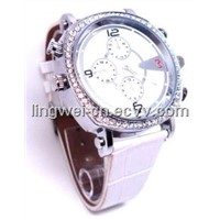 720P Watch Camera with H.264 Compression Format