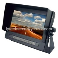 7 Inch Digital Waterproof Monitor with 3 Video input, 2 Audio input, 3 Triggers (LY-CWM01)