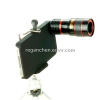 8X Zoom Optical Telescope Camera Lens for iPhone 4