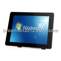 9.7inch IPS 1024*768 Atom N2800 CPU with GPS 14700mAh battery Tablet pc