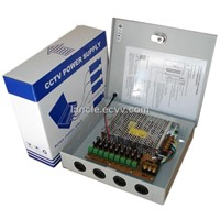 9ch 12V10A CCTV Power Supply