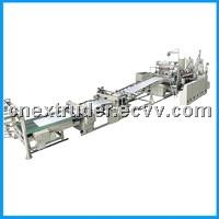 ABS single, multi-layer composite plate production line