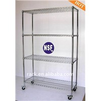 Adjustbale NSF Stainless Steel Wire Shelving